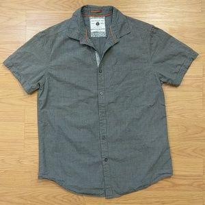 [Denim & Flower] Button up short sleeve chambray